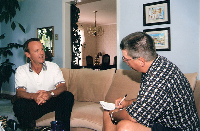 Journalism: Jeff Vircoe interviewing Stockwell Day